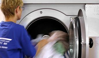 Første vaskeri godkjent for næringsmiddeltøy