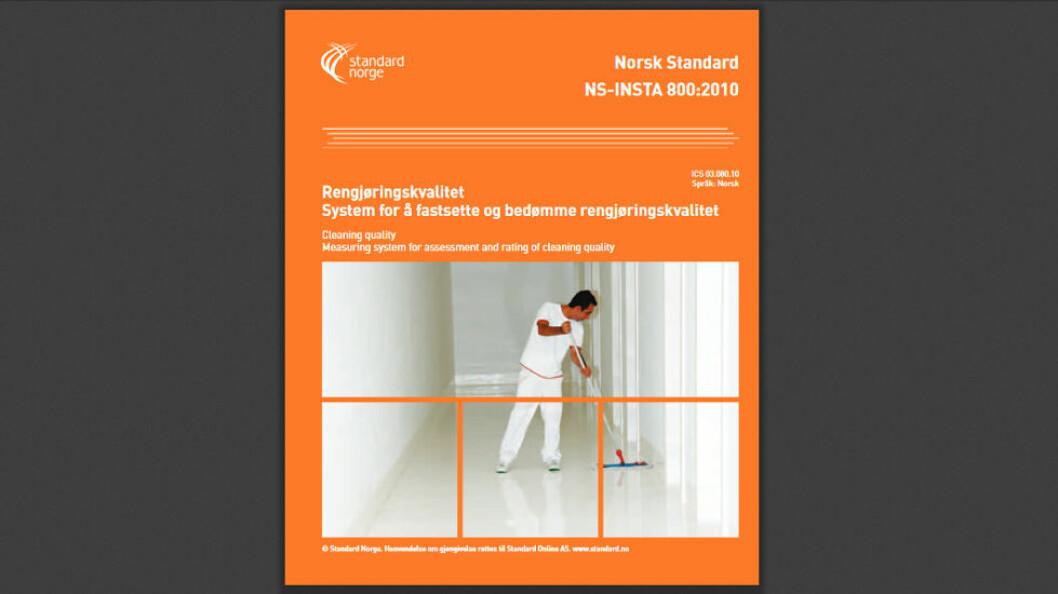 I den nye INSTA-standarden kan det bli slutt på oppdelingen i lette og vanskelige tilgjengelige flater. (Faksimile etter Standard Norge)