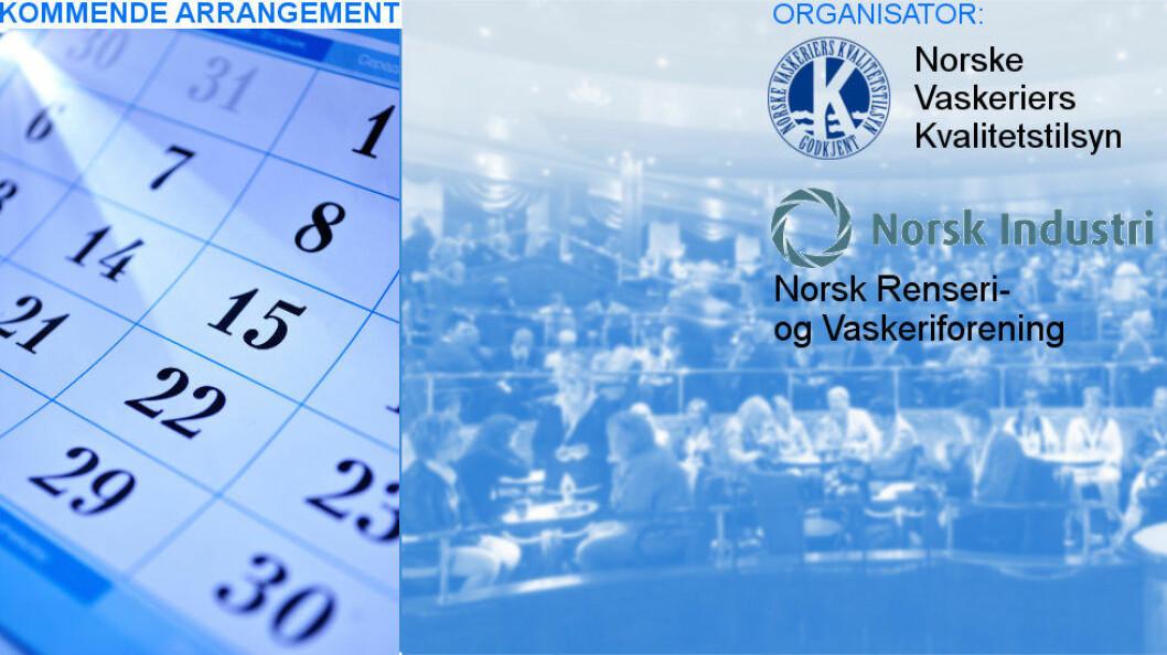 NVK og NRV avholder årskonferanse med utstilling i Oslo 16.-18. mars 2017.