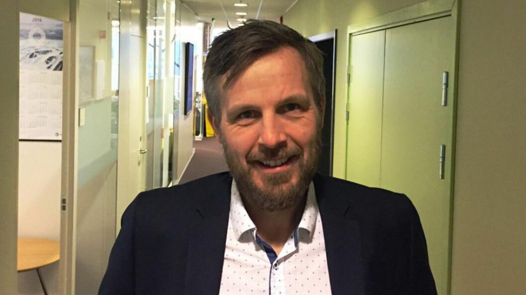 Kjetil Tvedt har blitt ny bransjesjef i NRV. (Foto: NRV)