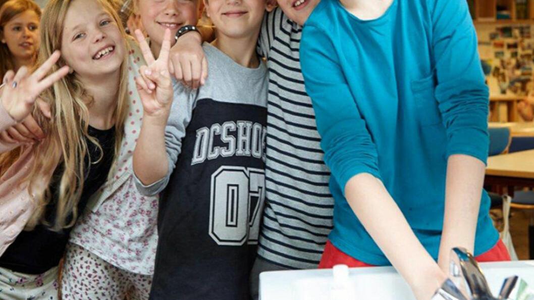 Tork forklarer hvorfor og når barna bør vaske hendene før å redusere infeksjoner. (Foto: Tork)
