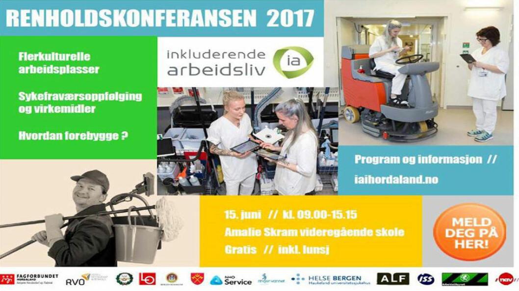 Konferansen avholdes 15. juni 2017. I fjor samlet den hele 120 deltakere.