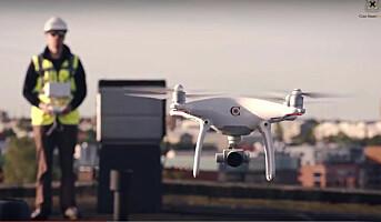 Tilbyr inspeksjon med droner
