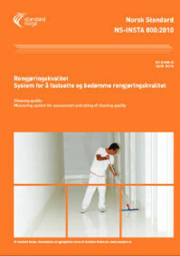 Forsiden til inneværende revisjon, NS-INSTA 800:2010. Foto: Standard Norge
