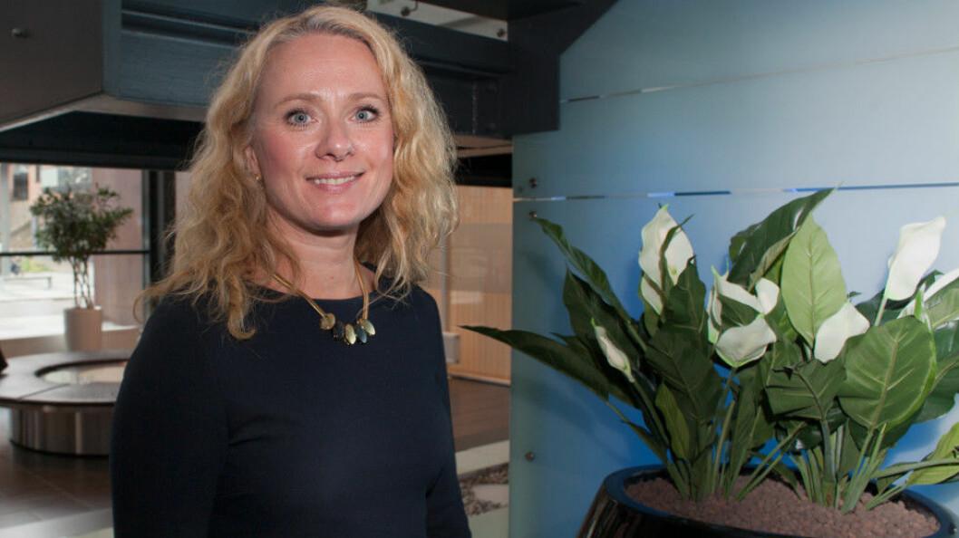 Arbeids- og sosialminister Anniken Hauglie (H) og hennes departement har strammet inn mot misbruk av renholdsregisteret (arkivfoto: teh).