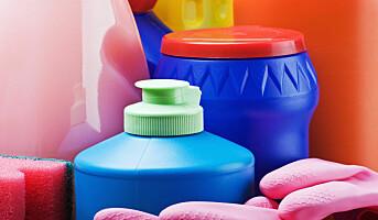 Bleke- og desinfiseringsmidler kan gi KOLS