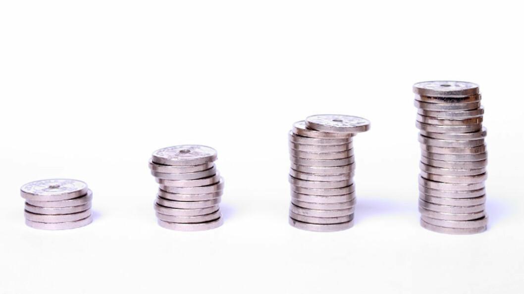 For arbeidstakere over 18 år blir minste timelønnssats kr 157,18. (Ill.foto: Colourbox)