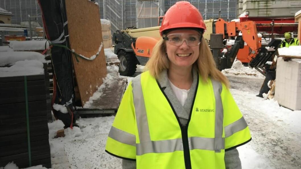Arbeids- og sosialminister Anniken Hauglie innfører nye tiltak mot kriminelle i arbeidslivet. (Foto: ASD)