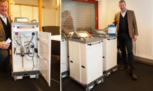 Decon-X-robot godkjent etter ny standard
