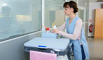 Renholdsarbeid kan være like skadelig som røyking
