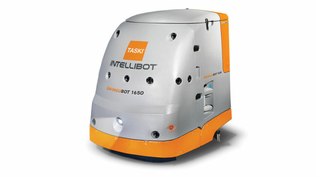 Ill.foto av roboten Taski Swingobot 1650. (Foto: Produsenten)