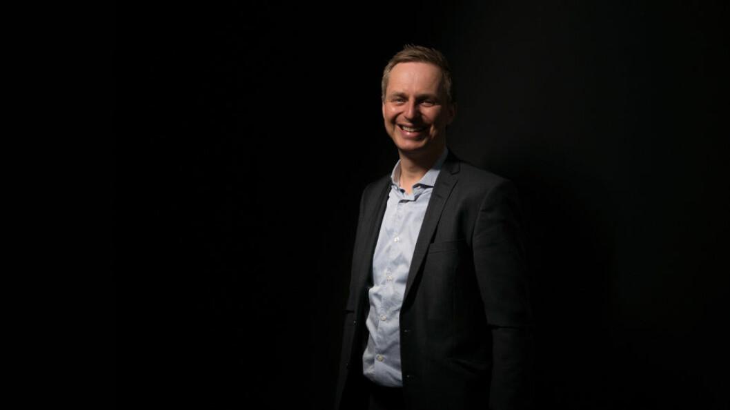 Frederik Nålby er ansatt som produktsjef i Datec. (Foto: Datec)