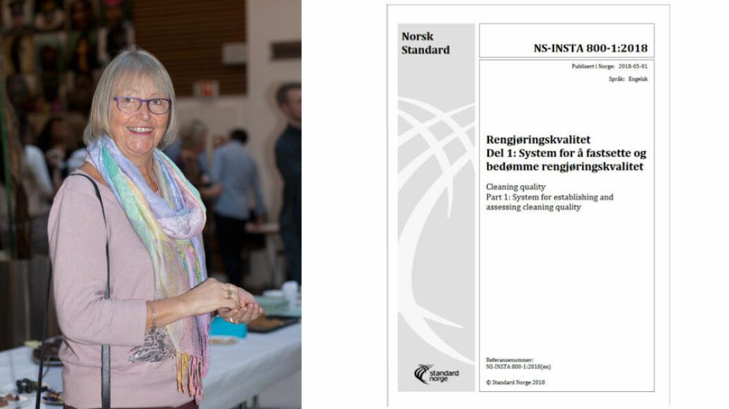 Inger Dahl har nå holdt det første oppdateringskurset for NS-INSTA-800-1:2018 for Standard Online.