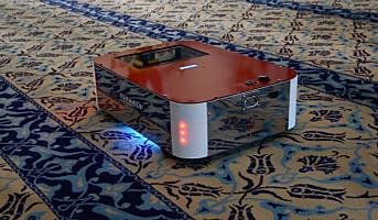Robot for teppedesinfisering