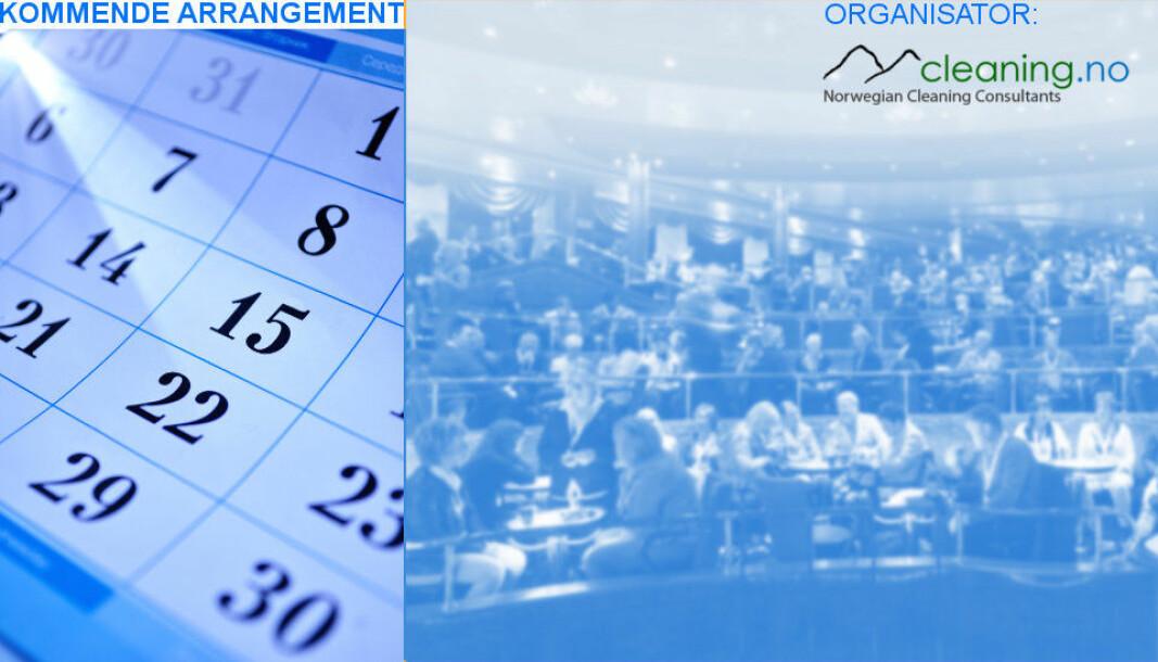 Renholdskonferansen avholdes 1.-2. mars 2022.