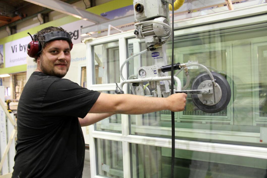 Industribedriftene har i det store og hele oppnådd IA-målene. Bildet er hentet fra Støren Treindustri. (Foto: Jan Tveita)