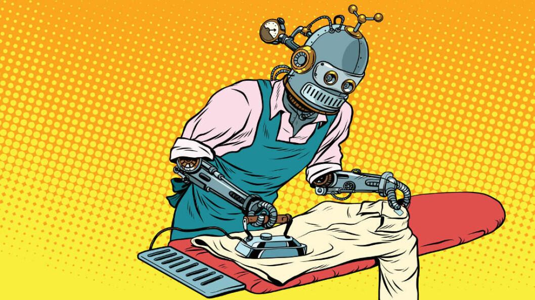 Eldre og de med mindre utdanning er litt mer tilbøyelige til å mene at jobbene deres ikke kan overtas av teknologien. (Ill.foto: Colourbox)
