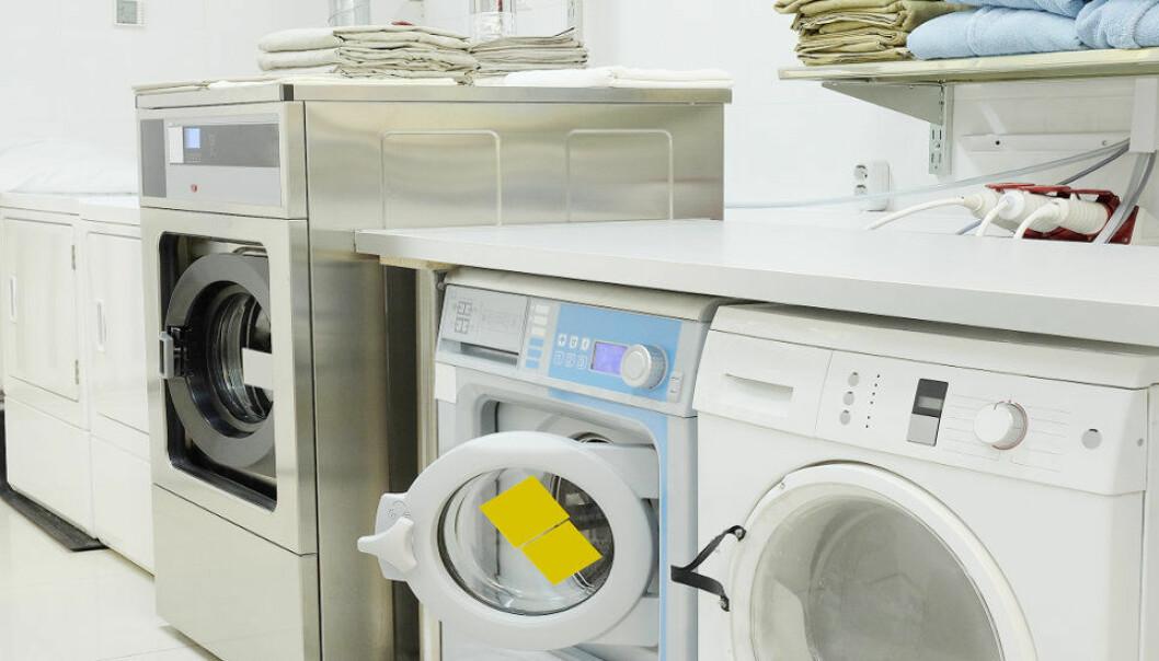 Illustrasjonsbilde fra vaskeri.