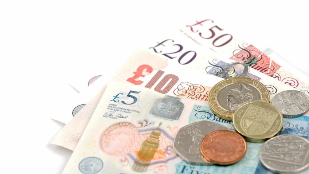 Britiske forskere har lagt penger under mikroskopet. (Ill.foto: Colourbox)