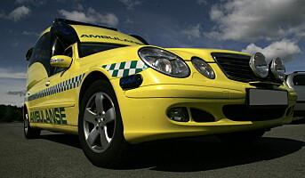 Skitne ambulanseuniformer kan spre smitte