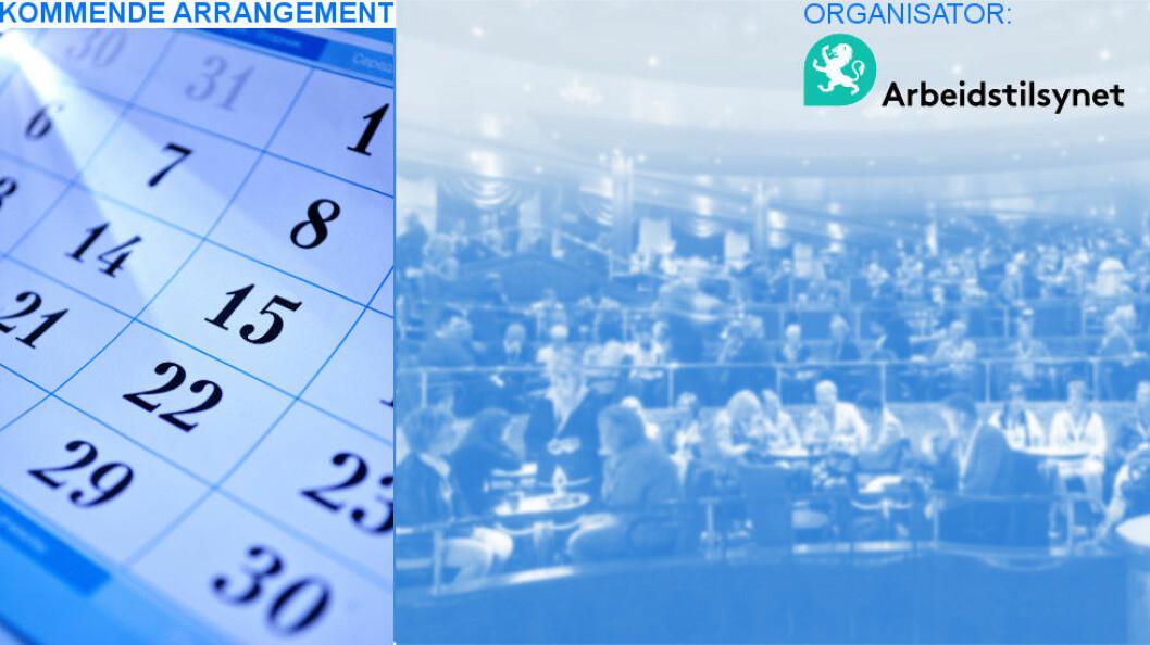 Arbeidstilsynet avholder gratis seminar om varsling på ulike steder i landet i januar.