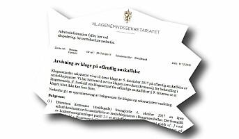 Leverte til feil adresse – pristilbud avvist