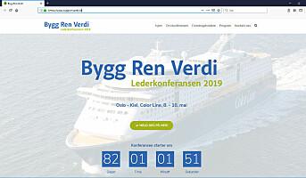 Bygg Ren Verdi med hjemmeside