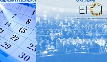 EFCI: Konferanse om renholds- og fasilitetstjenester