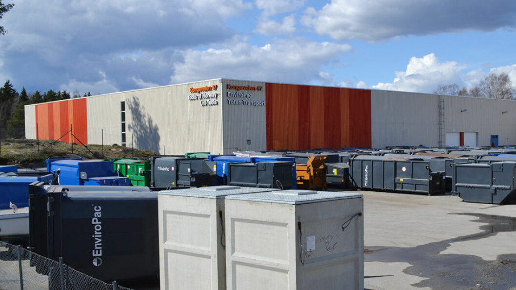 EnviroPac AS kjøper BNS Miljø AS med datterselskapet BNS Container AB i Sverige. (Foto EnviroPac)