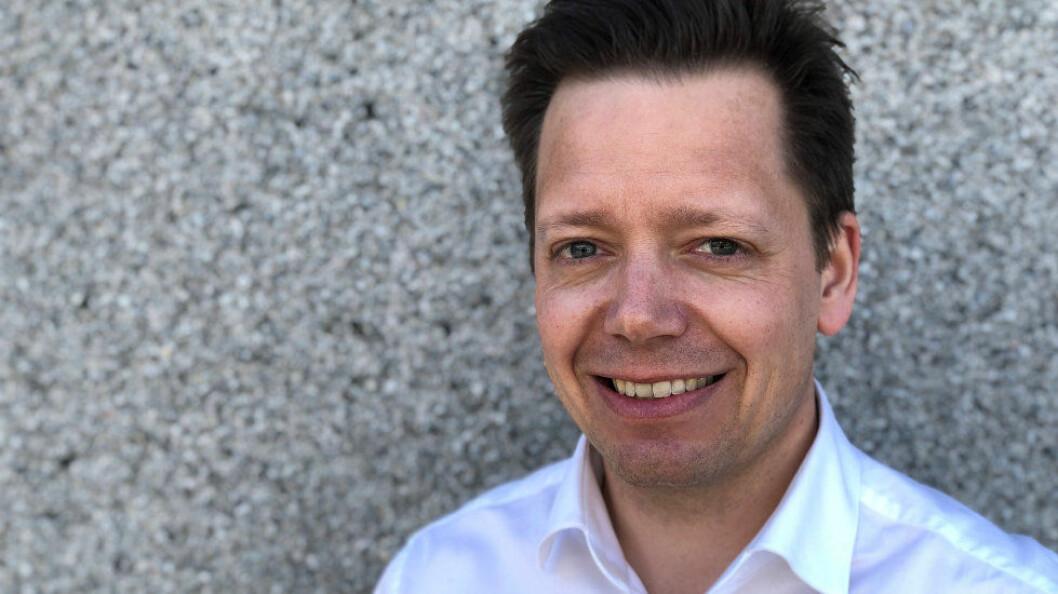 Laust Kristian Poulsen er nyansatt advokat i NHO Service og Handel (Foto: Baard Fiksdal)