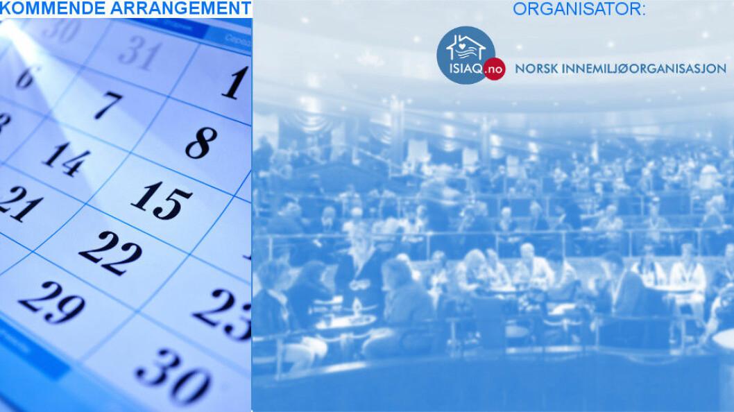 NIO inviterer til fagmøte med start 8. mai ca. kl. 16.30,  åpent for alle.