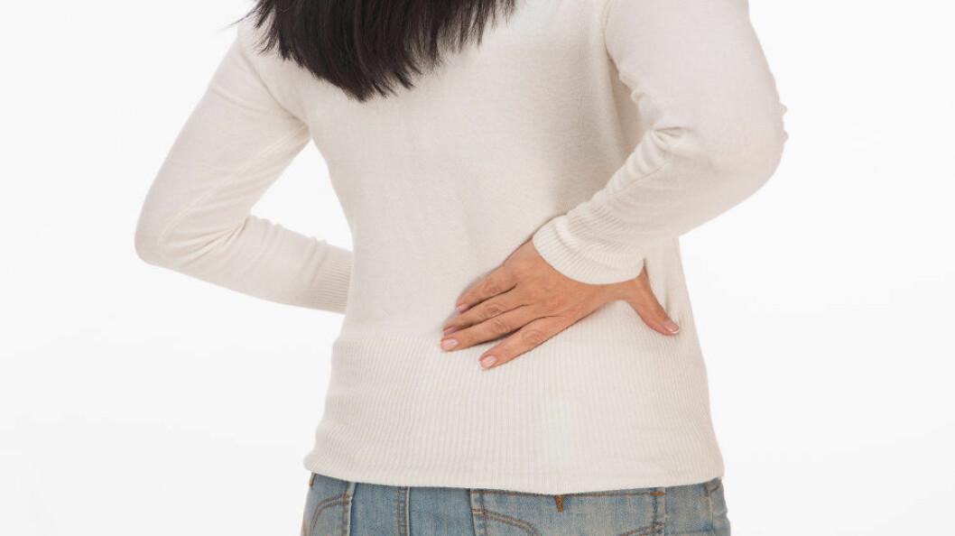 WHO vil godkjenne kroniske smerter som sykdom, ikke bare som et symptom på sykdom. (Ill.foto: Colourbox)