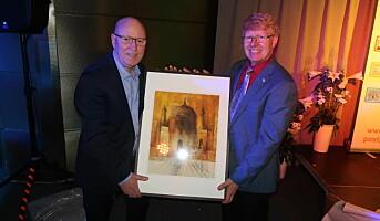 Stor heder til Trond Holm Johansen