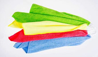 Smittevern: Hvilken type klut er best for miljøet?