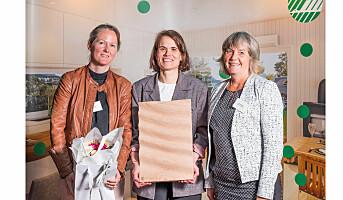Lilleborg fikk Svane-pris