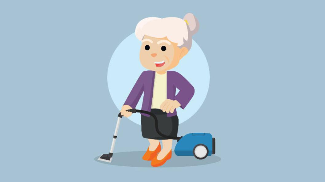 Mange arbeidsgivere tror man er på høyden rundt de 40, men mener det fortsatt er god produktivitet blant 50- og 60-åringer. (Ill.foto: Colourbox)
