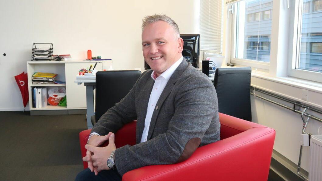 Daglig leder i AB Solutions, Frode Standahl, er stolt over å få et solid fotfeste i Trondheim ved kjøpet av Reninor. Bildet er fra selskapets hovedkontor i Bergen. (Arkivfoto: teh)