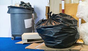 Færre og færre tillater sorte søppelsekker
