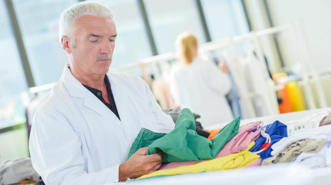 Instituttet RISE kan hjelpe til med å teste tekstiler du er usikker på. (Ill.foto: Colourbox)