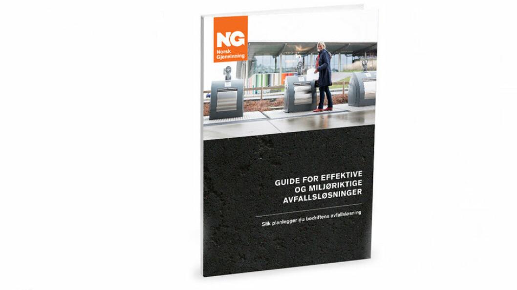 Gratis 40-siders guide om å planlegge avfallsløsninger. (Ill.foto: Norsk Gjenvinning)