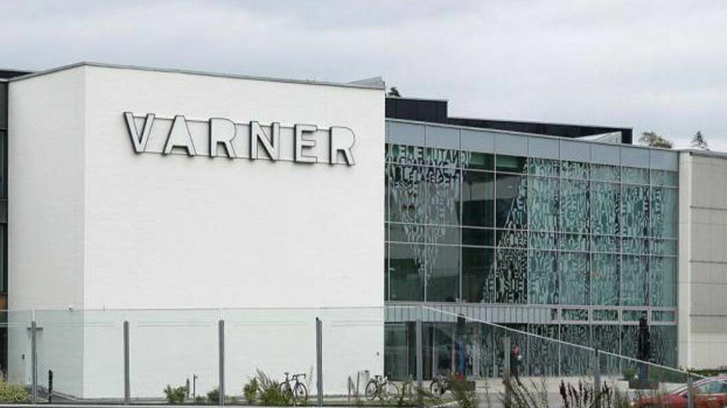 Fra Varner Gruppens hovedkontor på Slependen.