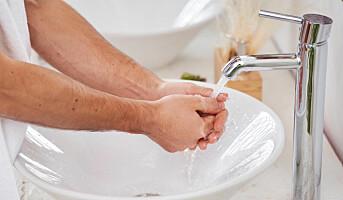1 av 20 vasker hendene noenlunde grundig