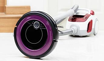 Hevder robotstøvsugere bruker mindre strøm