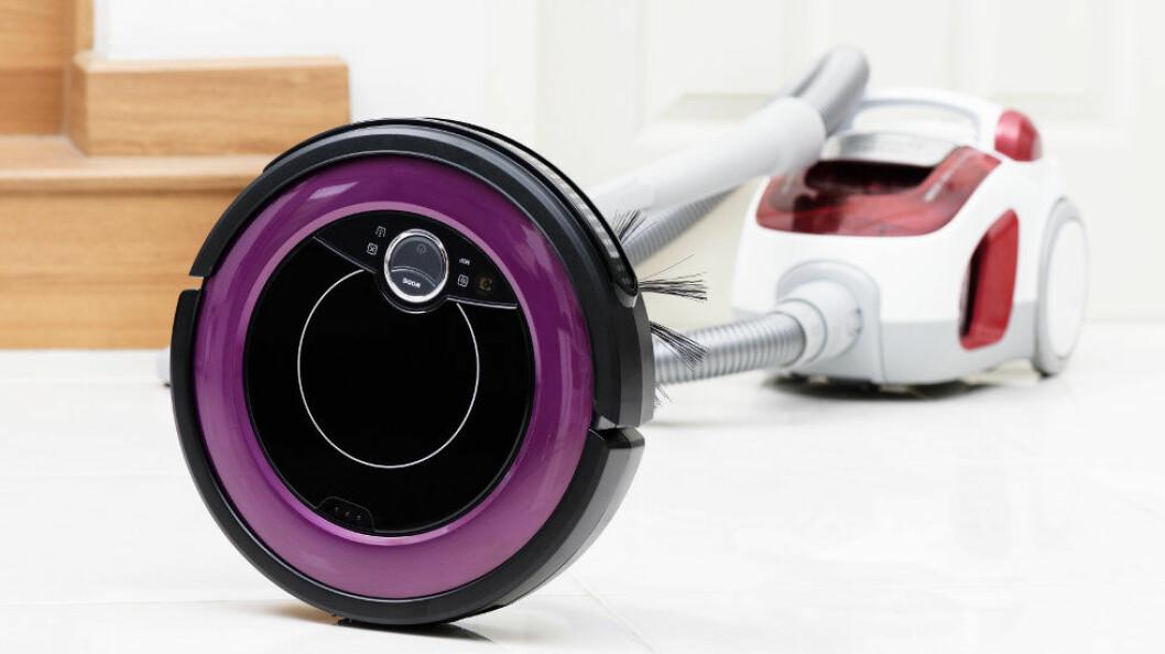 Robotstøvsugere skal klare å spare strøm sammenlignet med vanlige slangestøvsugere, mener et britisk selskap. (Ill.foto: NorGal / Colourbox)