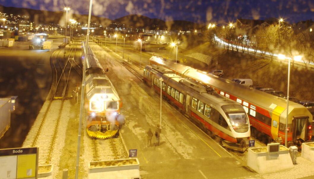 Elite Service Partner har vunnet kontrakten om renholdet på togene til SJ Norge, som fra uti juni skal trafikkere bl.a. Dovrebanen og Nordlandsbanen (bildet).