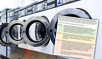 Tekstilvask: Behandling av tøy med koronavirus