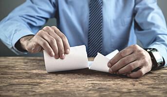 Danmark: 40% opplever annulerte kontrakter
