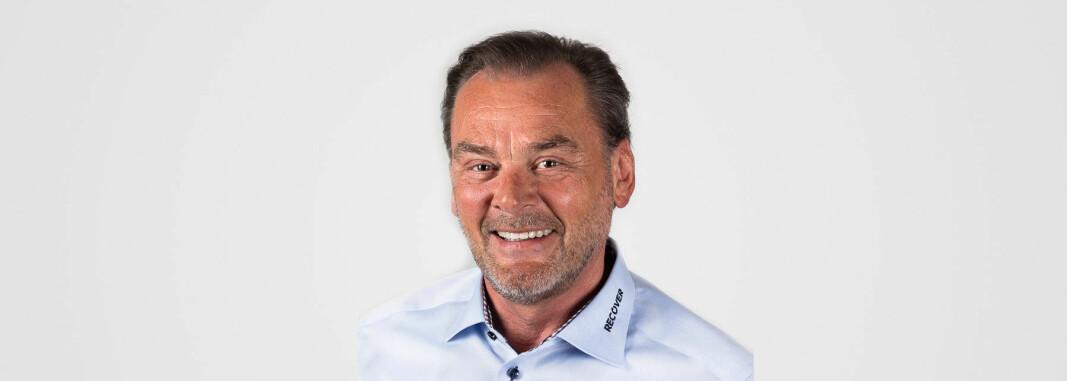 Bjørn Herlofsen er konsernsjef i Recover Nordic og har vært med på å bygge opp skadesaneringsselskapet med 3000 ansatte.