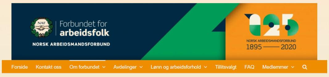 Norsk Arbeidsmandsforbund har røtter 125 år tilbake i tid.