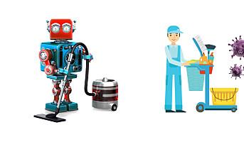 Roboter kan bidra mot virus